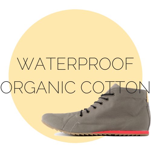 waterproof organic cotoon shoes
