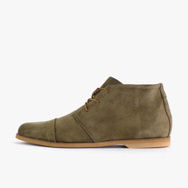 Desert Boots veloursleder grün