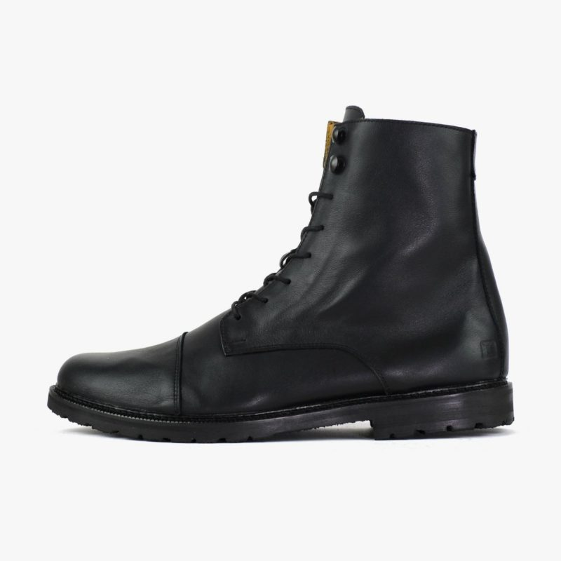 Leder Boots Damen Herren Winter