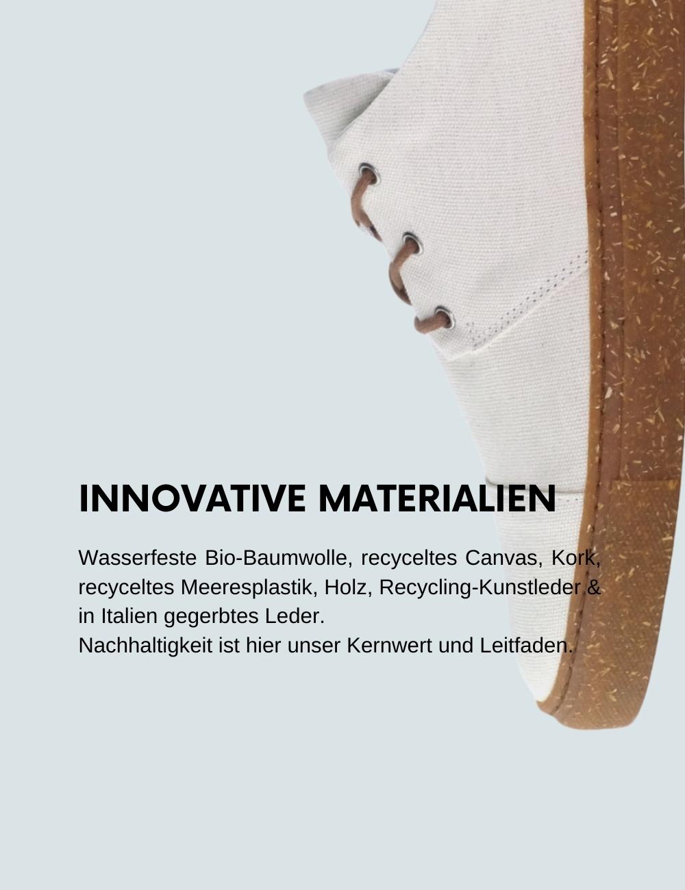 Schuhe faire Produktion nachhaltig vegan Europa