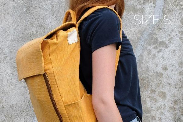 nachhaltige rucksäcke gelb damen herren
