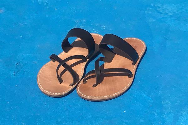 nachhaltige sandalen leder
