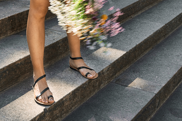 sandalen leder damen nachhaltig