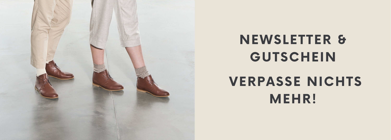 Sorbas Schuhe Newsletter Anmeldung