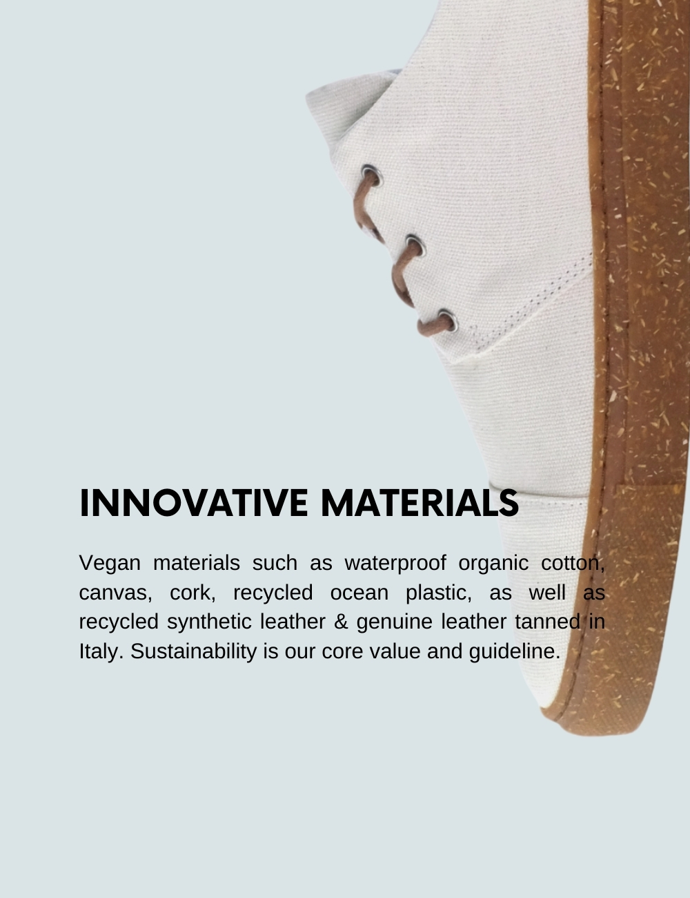 Sorbas Shoes production Europe sustainable