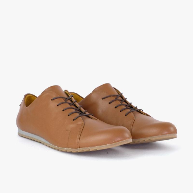 Sneaker Leder braun Damen nachhaltig