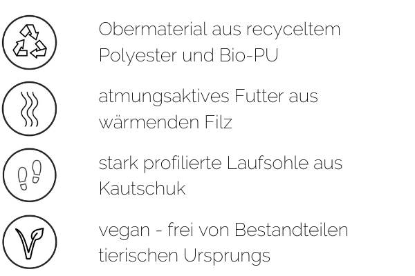 vegane recycling stiefel vegan