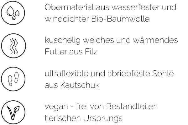 vegane sneaker gefüttert materialien baumwolle