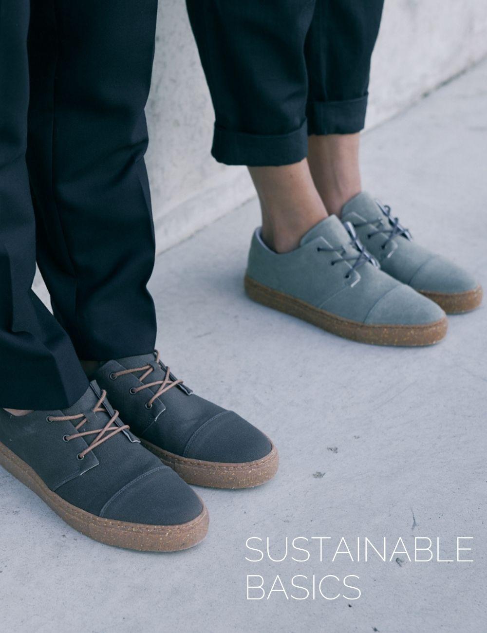 sorbas shoes nachhaltige sneaker grau spätsommer herbst