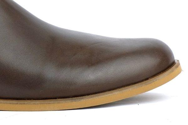 Chelsea Boots braun Leder