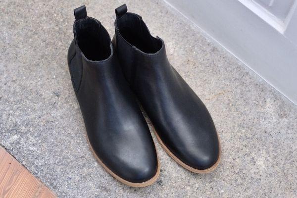Chelsea Boots Herren Damen Winter Leder